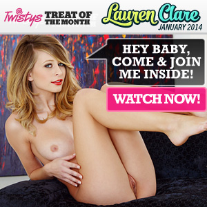 Lauren Clare Twistys Treat of the Month January 2014