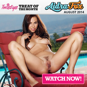Aidra Fox Twistys Treat of the Month August 2014