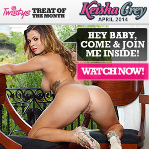 Keisha Grey Twistys Treat of the Month April 2014